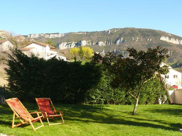Gîte Chez Marie Jardin clos de 210m2 et vue sur les gorges du Tarn