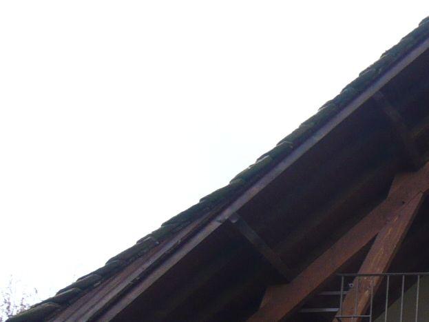 vue sur le balcon au 1er étage