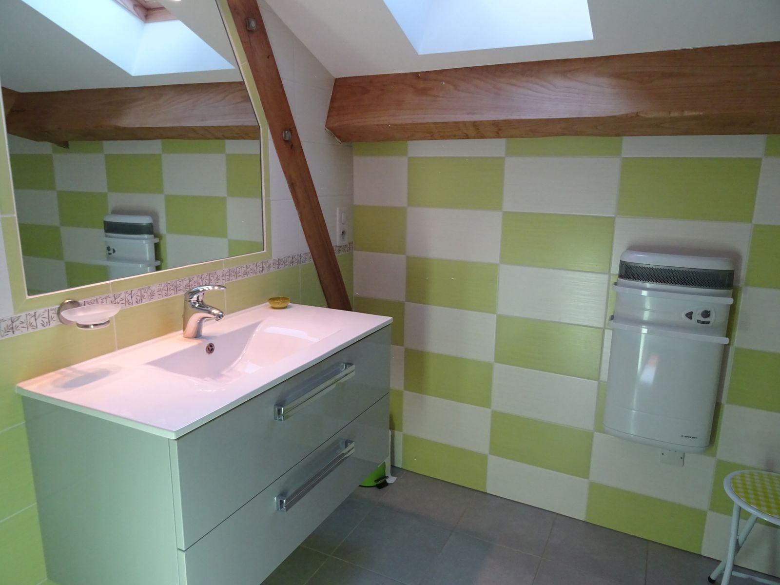 Salle de bain étage (vasques)