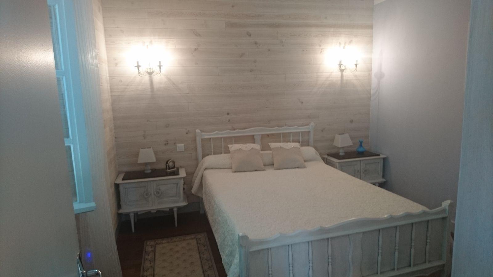 Chambre coté terrasse et tilleul