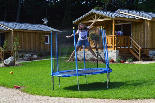 le trampoline, c'est génial!