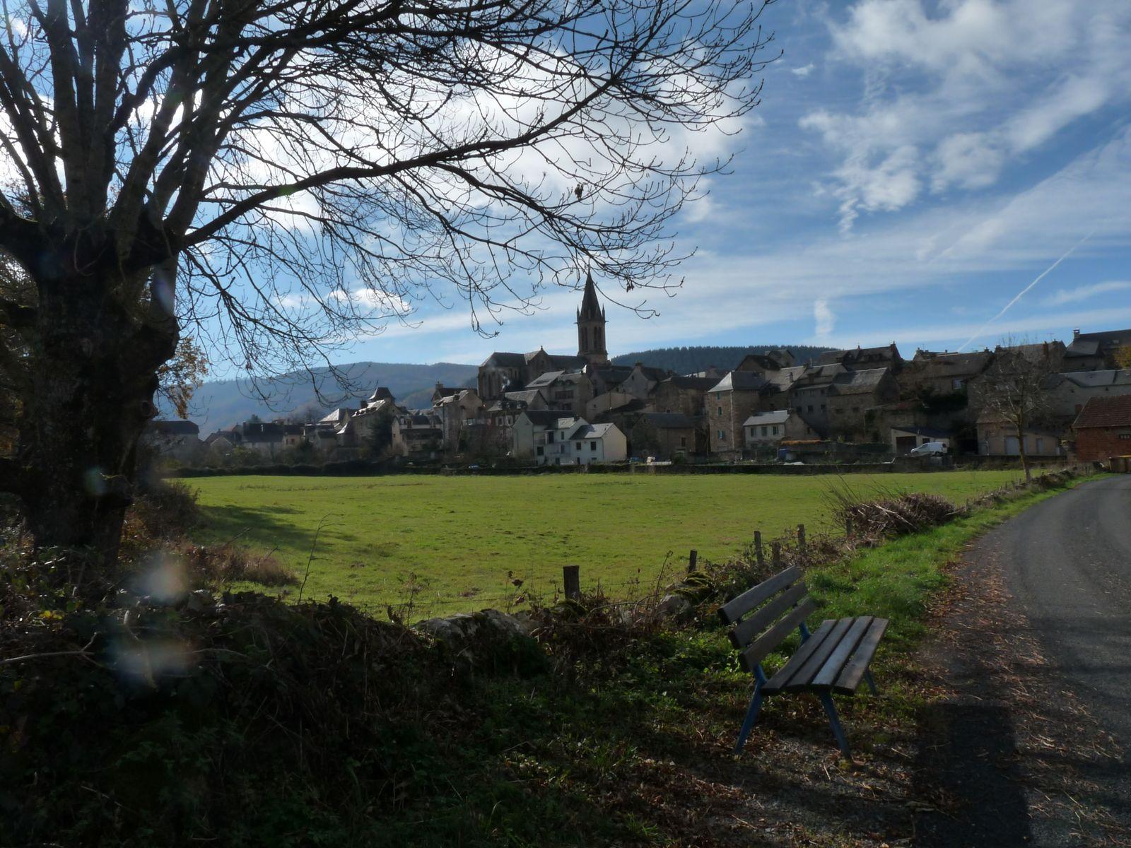 Le village de LAISSAC