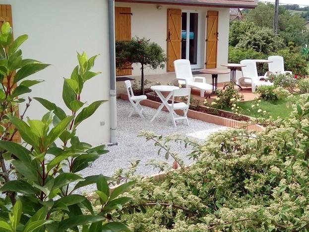 studio terrasse piscine