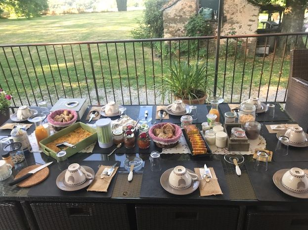 Petit-déjeuner copieux
