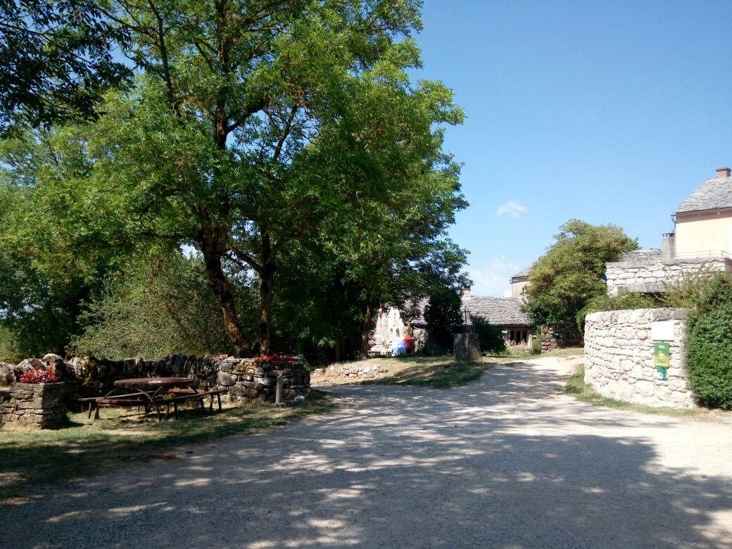 La place du hameau