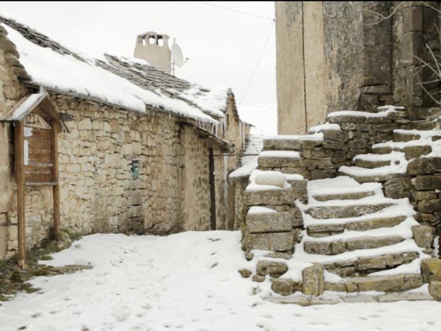 L'hiver sur le Larzac, le gîte vous accueille aussi