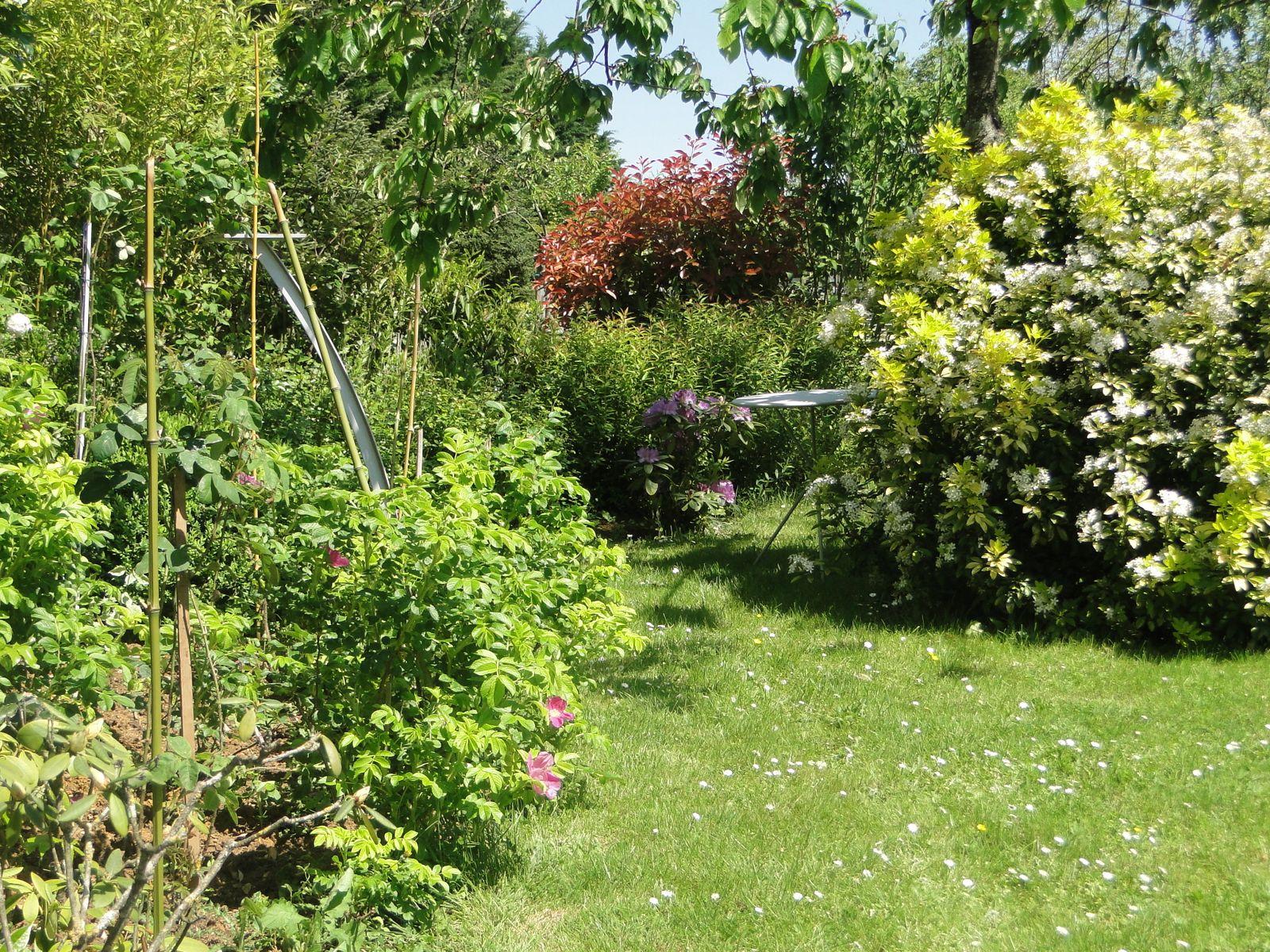 Vers le jardin