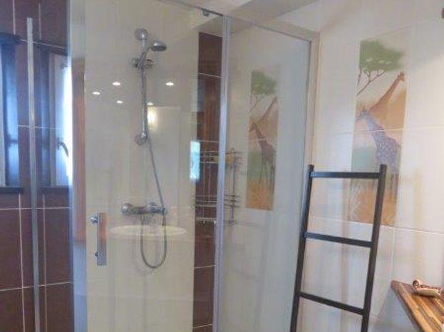 La douche du rez de chaussée