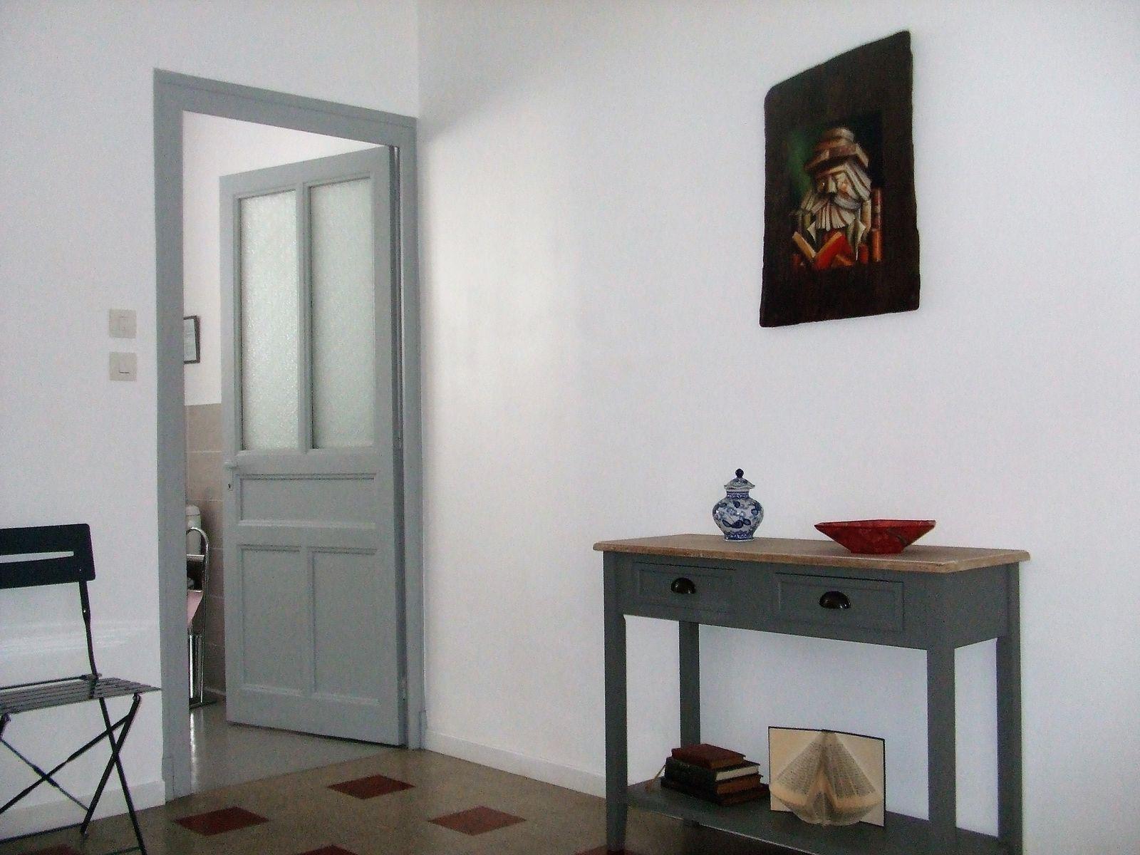 Chambre côté ouverture salle de bains