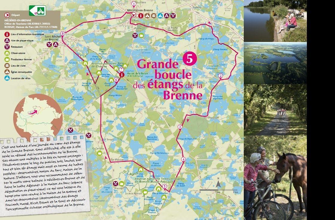 Circuit vélo Brenne