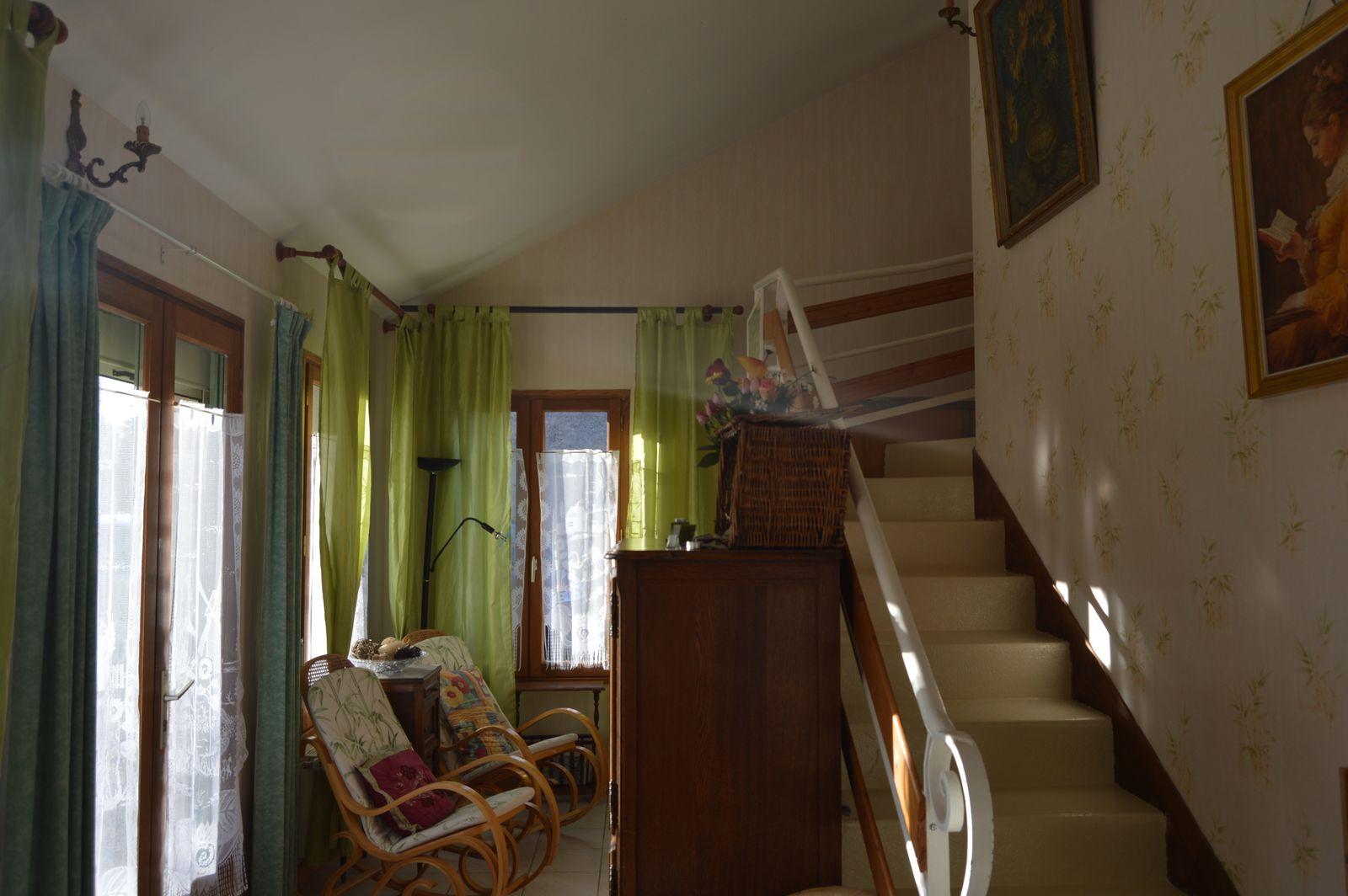 escalier pour le premier etage