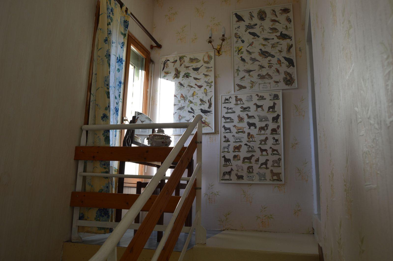 accès au premier etage