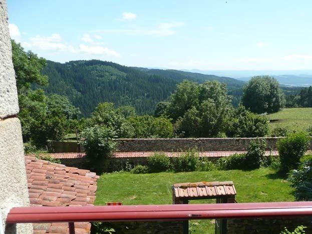 Vue sur la vallée de l'Allier