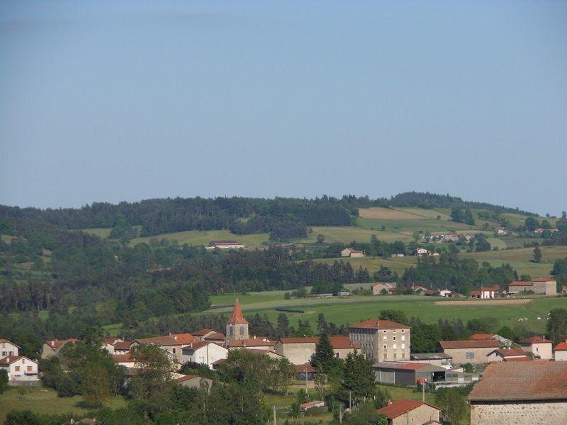 Vue sur St Georges Lagricol