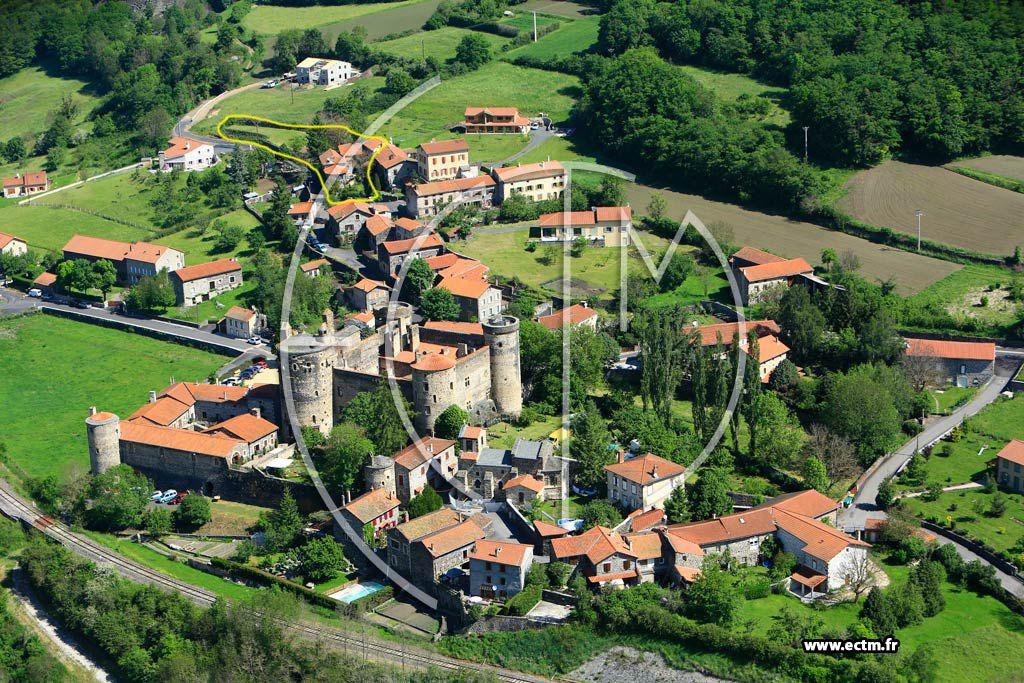 le village de Saint Vidal et sa forteresse (visites et animations  estivales)