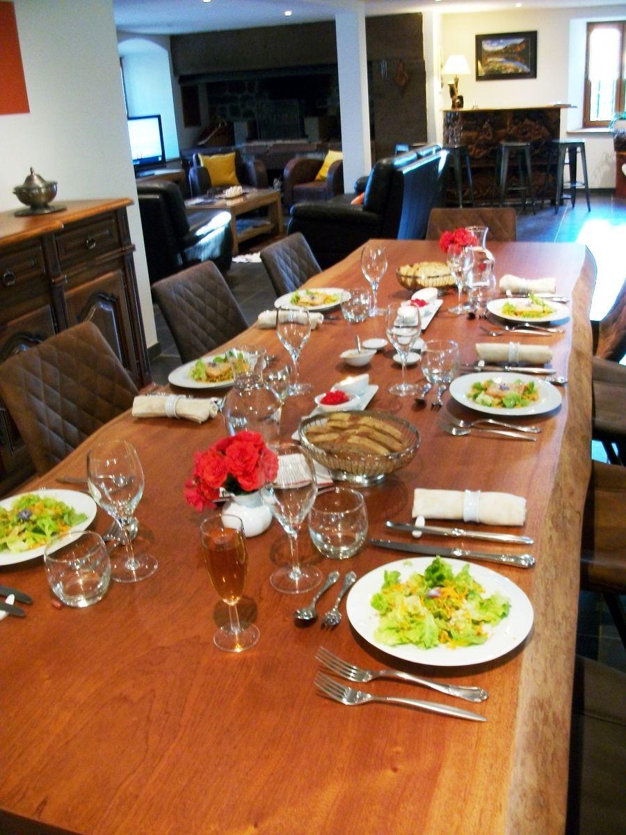 Soyez les  bienvenus à notre table d'hôtes