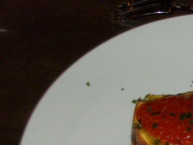 Flan de courgettes et coulis de tomate maison