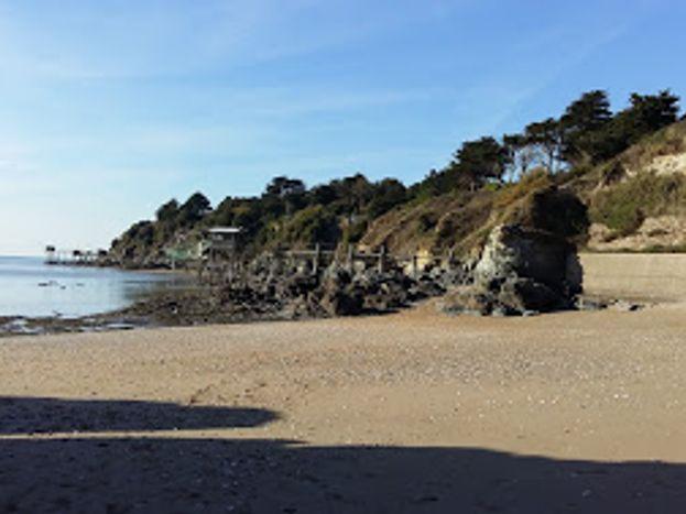 La plage de la boutinardière à 15 km du gîte