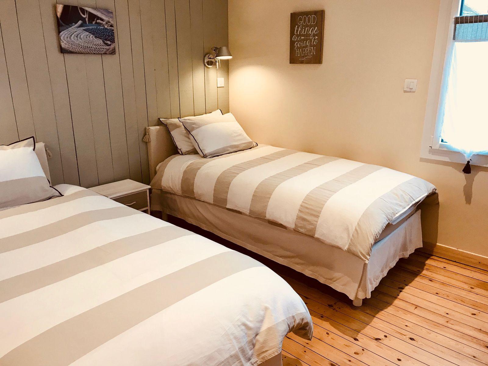 2ème chambre aux tonalités douces de la Loire toute proche