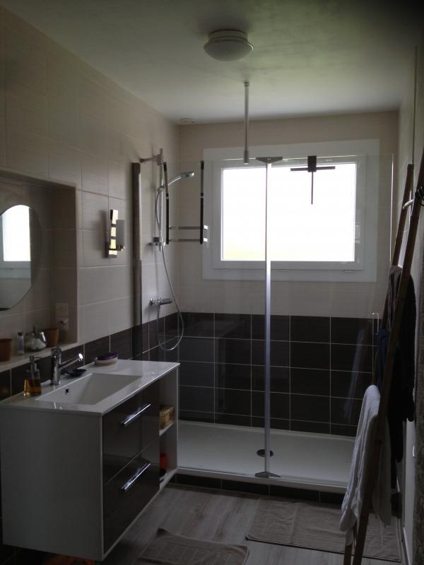 Salle d'eau de Mimosa Grande douche à l'italienne