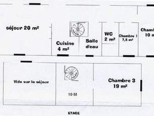 Plan du gîte