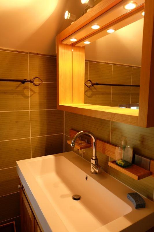 Salle d'eau WC chambre étage