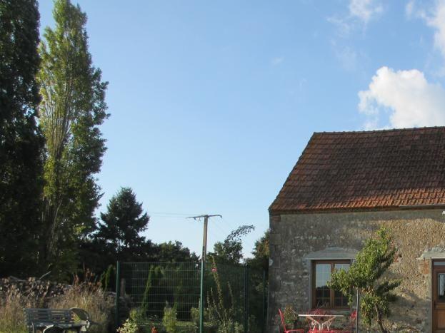 Le pré et la terrasse