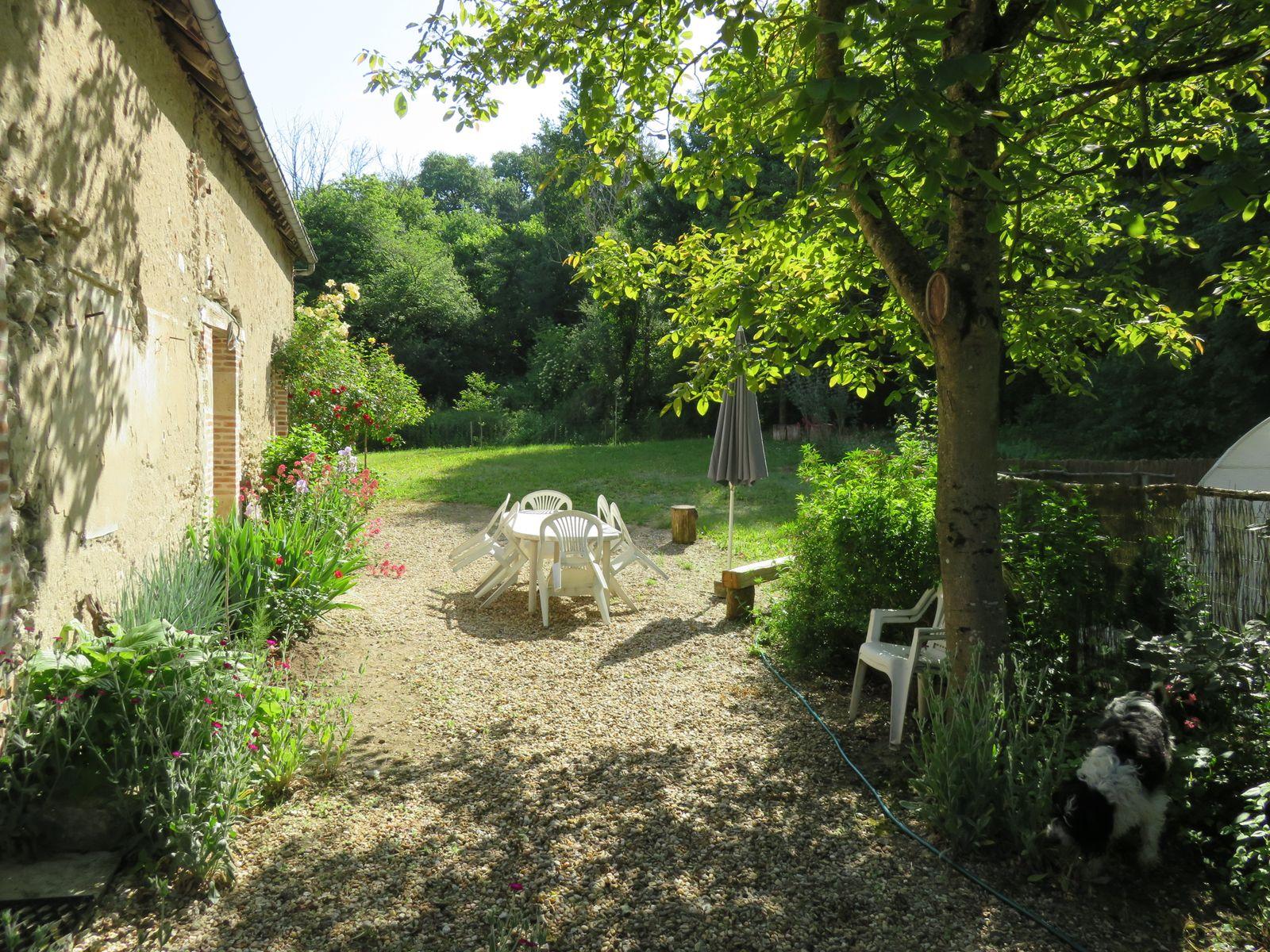 Espace jardin derrière