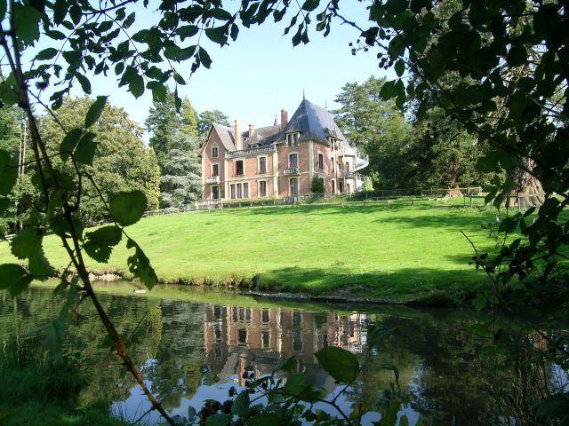 Vue arrière du Château