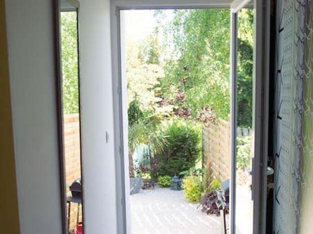Accédez à votre jardin privatif depuis votre chambre