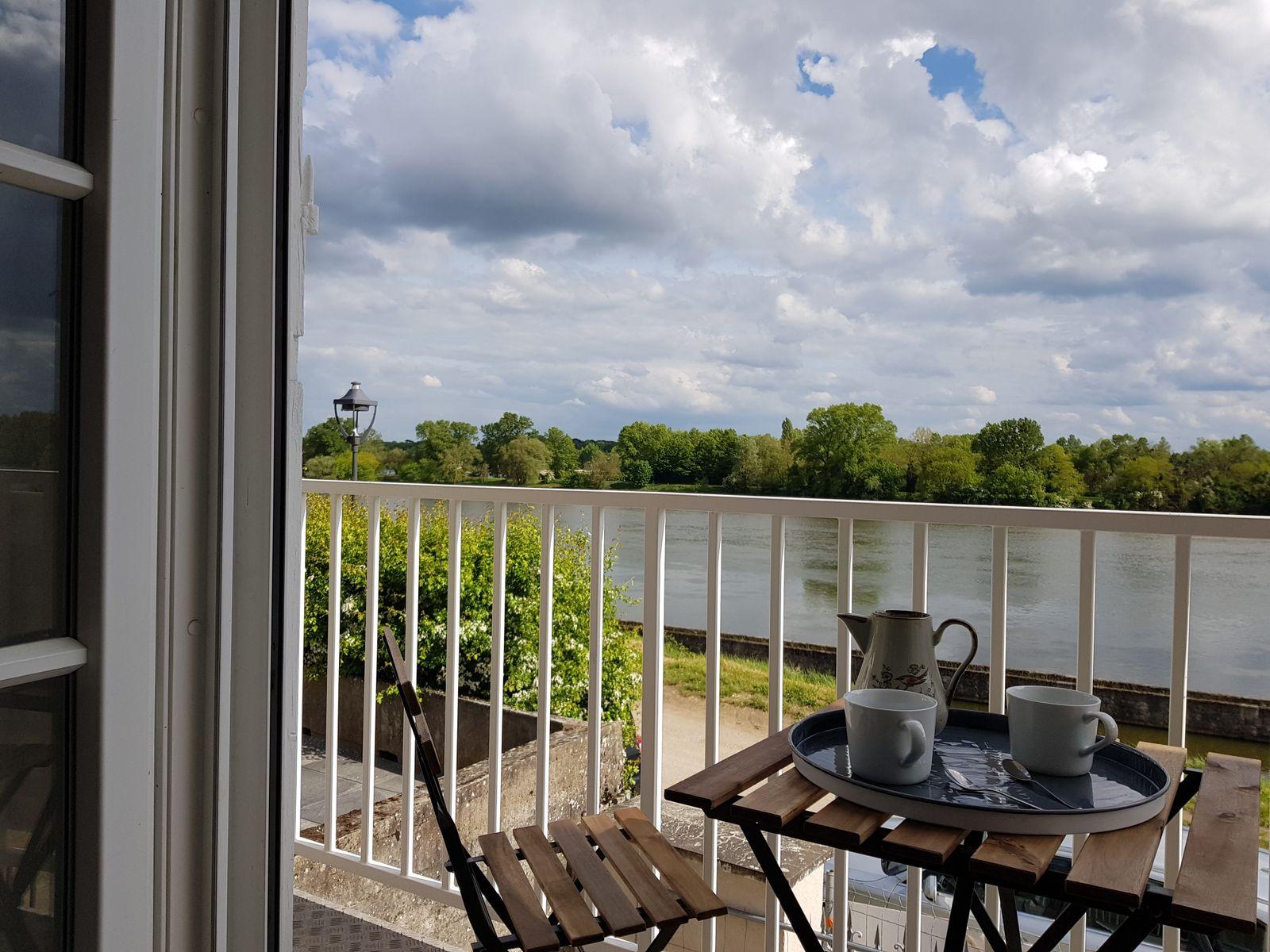Balcon vue directe sur Loire (2 personnes)