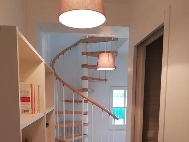 escalier vue RdC Largeur 52 cm