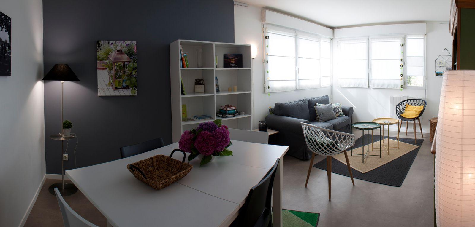 espace salon / salle à manger