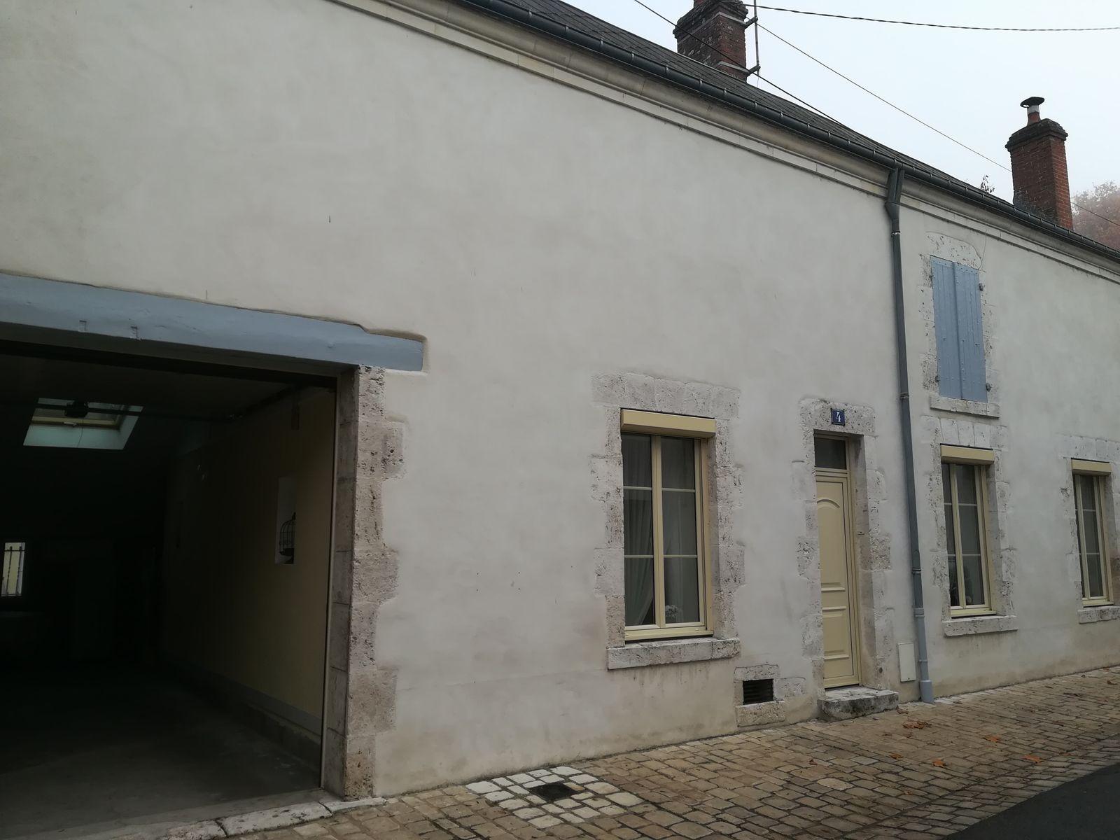 accès garage