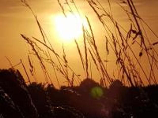 Coucher de soleil de Juillet.