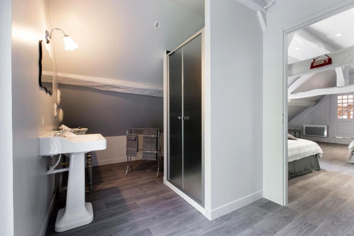 Chambre Perle Salle de bain