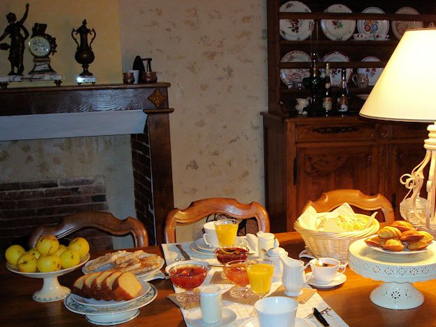 Un petit-déjeuner d'hiver