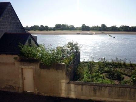 Du gîte, vue sur la Loire. Cabanon dans le jardin pour ranger les vélos