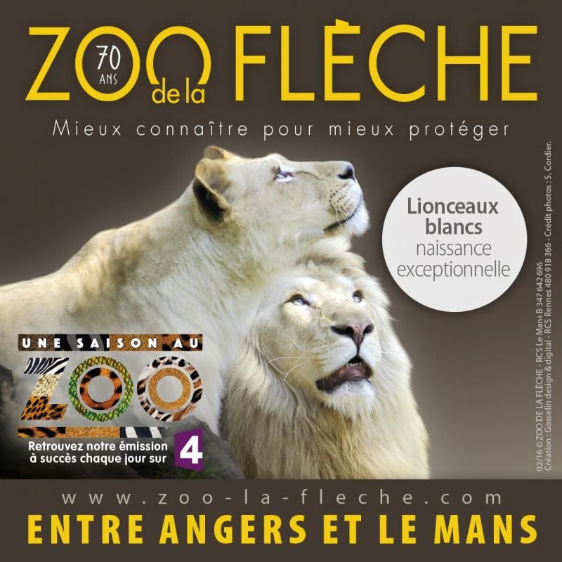 Le Gîte du Chabeau partenaire du zoo de la Flèche