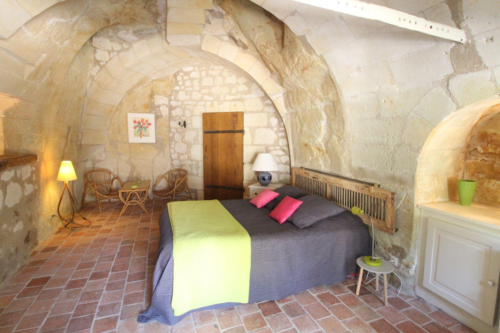 Chambre 2 du Troglo