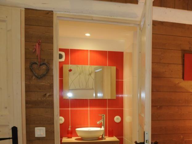 Salle de bain chambre Chinon