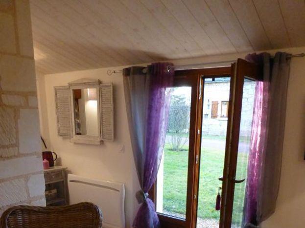 Chambre Saumur en rez de jardin