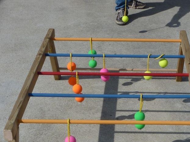 Jeux pour enfants sur la propriété