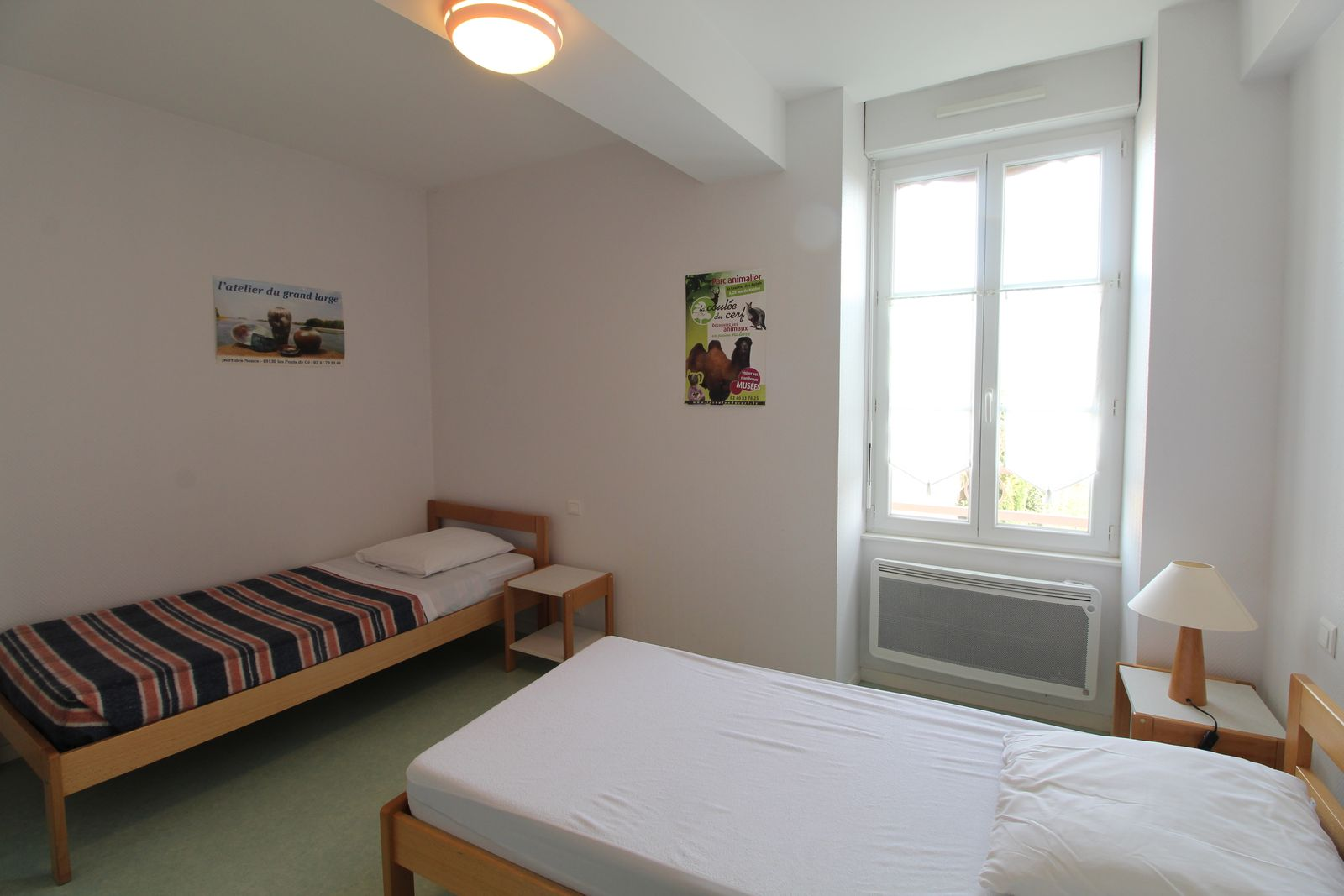 Chambre n°3 : 2 lits 1er étage