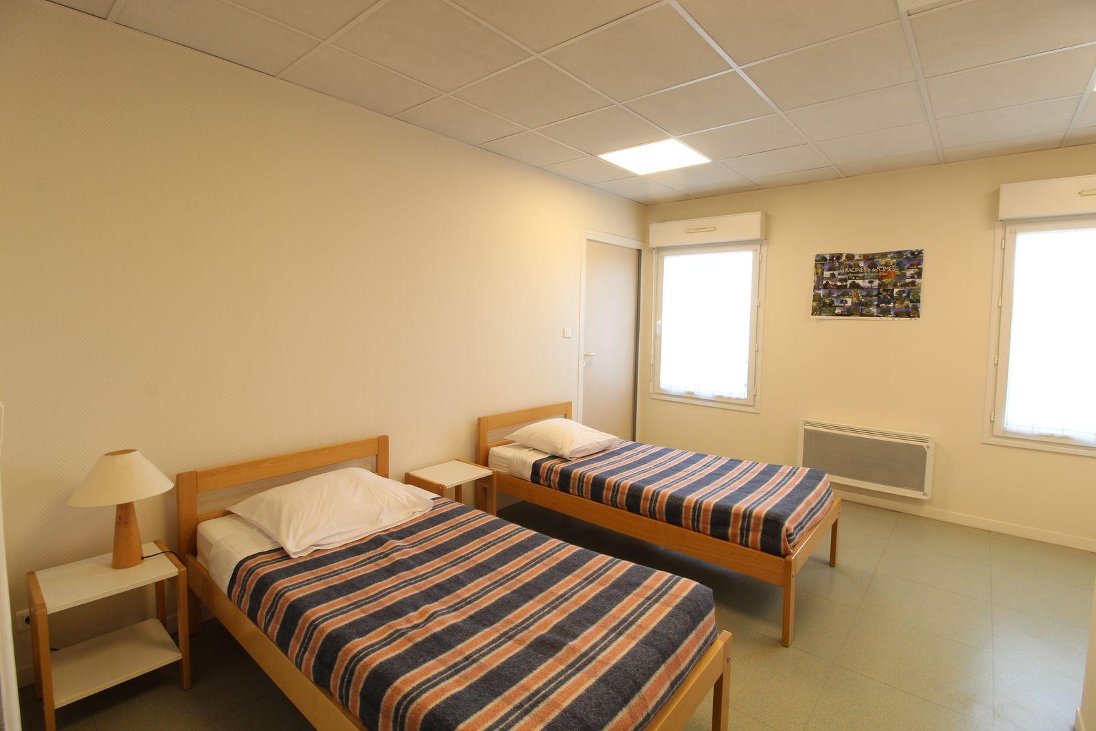 Chambre n°4 : 2 lits 1er étage