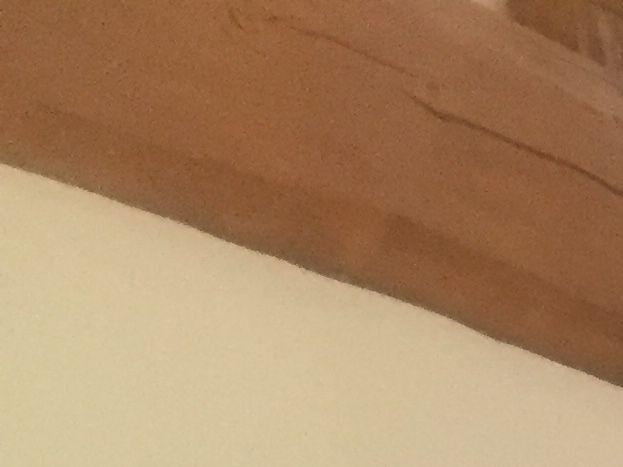 Lit sur mezzanine  Coin bureau