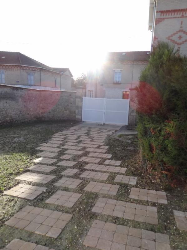 Cour privative 51G434 - Le Gîte du Courtil - Cormicy - Gîtes de France Marne