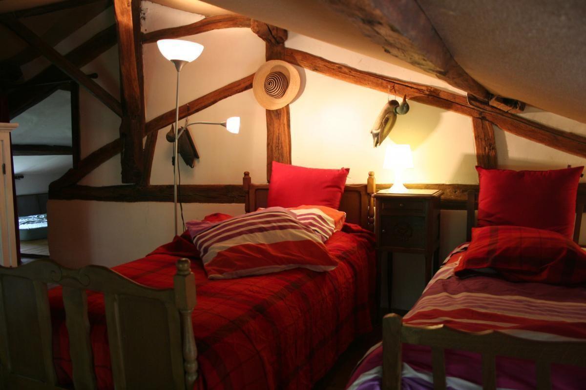 Chambre d'enfants. 51G416 - Sous l'Orme en Argonne - Les Charmontois - Gîtes de France Marne