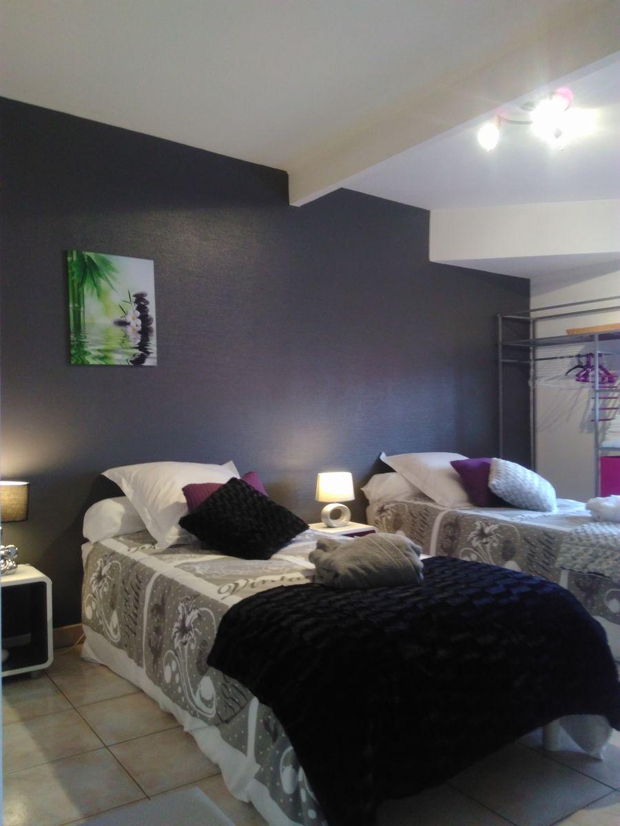 grand lit peux se transformer en deux lits 51G466 - Chez Bri-Gîte - Loisy sur Marne - Gîtes de France Marne