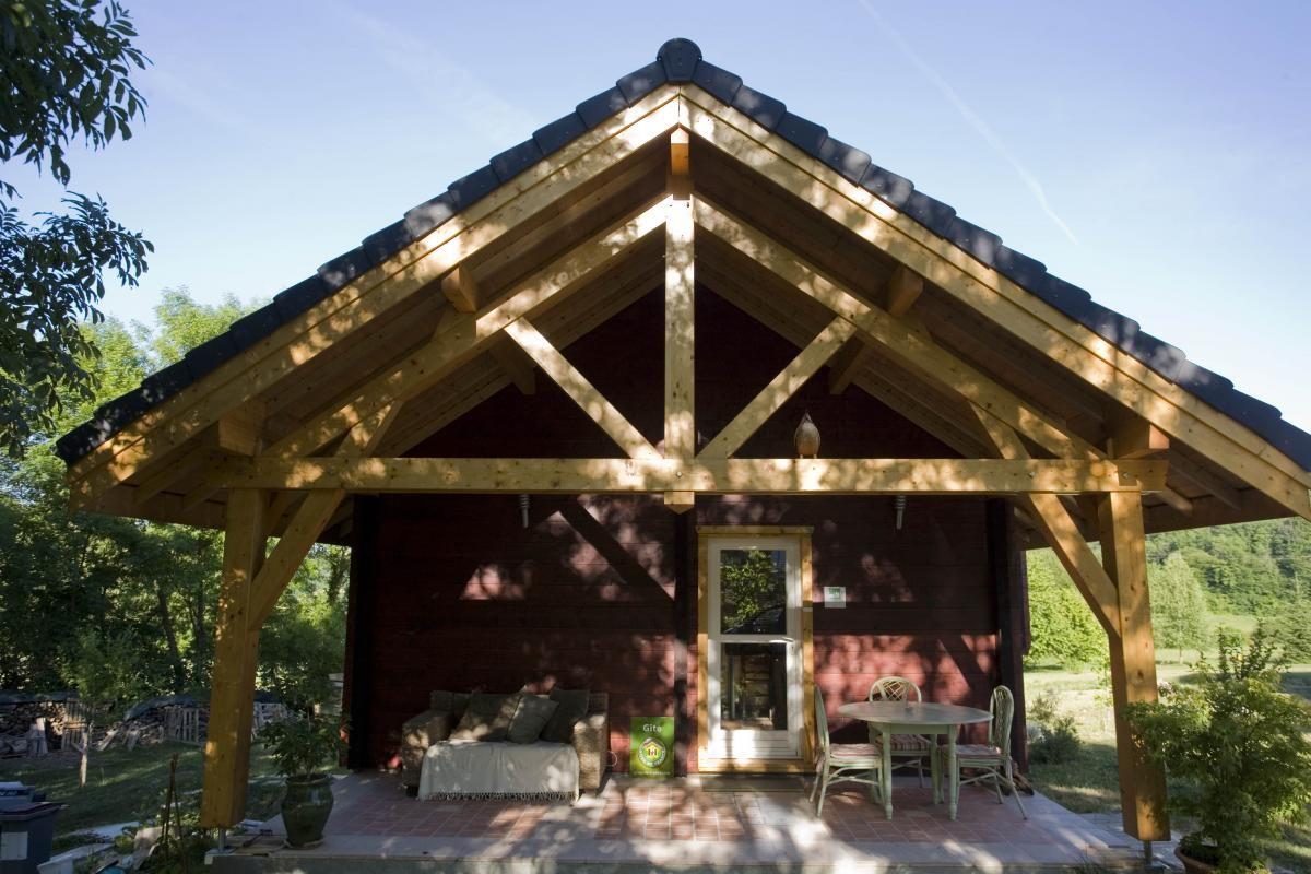 Terrasse 4 51G362 - La Maison en Bois - Moslins - Gîtes de France Marne